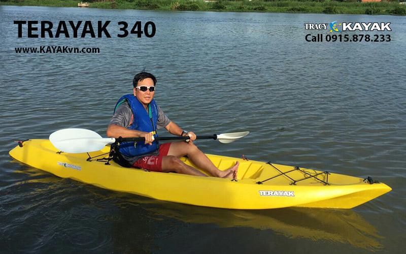 thuyen kayak 1 cho