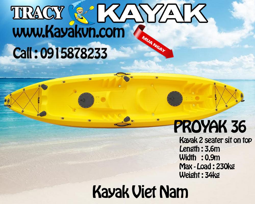 kayak 2 cho proyak 36